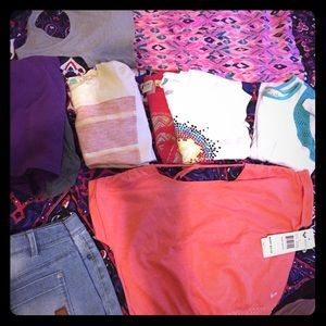 Girl's ROXY clothing lot size 8-10